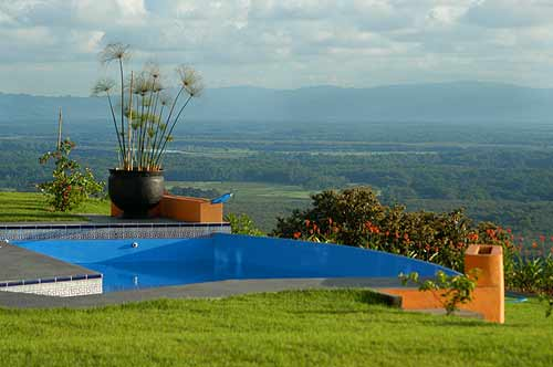 La piscina en casa