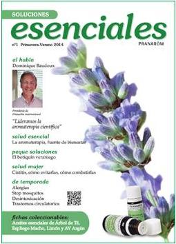Pranarôm lanza Soluciones Esenciales, su revista divulgativa sobre cómo cuidar la salud a través de los aceites esenciales