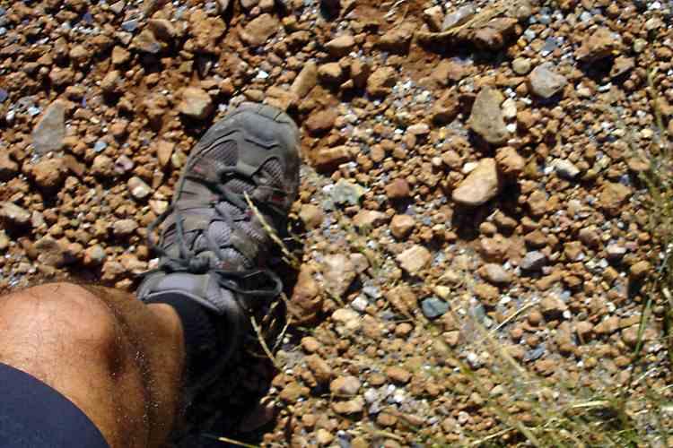 escoger zapatos de montaña