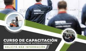 CURSO DE CAPACITACIÓN DE CONDUCCIÓN SEGURA DE AUTOELEVADORES