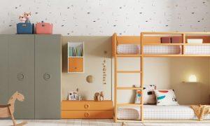 Versatilidad y practicidad en muebles infantiles
