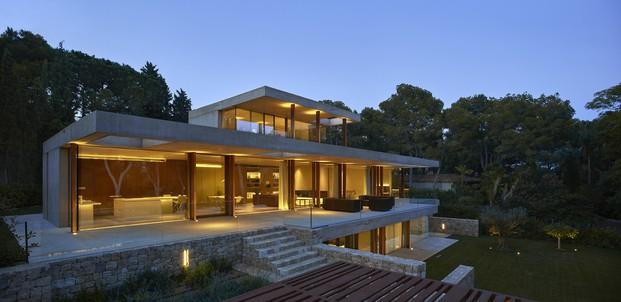 Hermosa vista panorámica de la casa