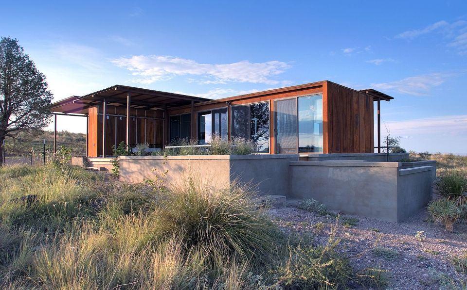 Moderna casa abierta