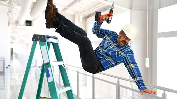 Consejos de seguridad en escaleras de mano