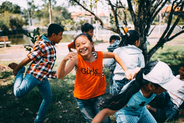 Actividades para fiestas infantiles en el exterior