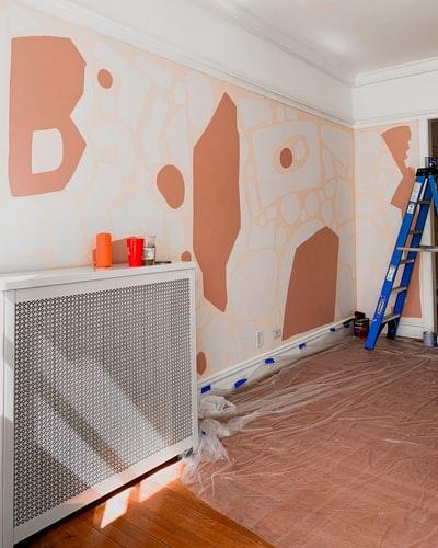 como pintar un mural